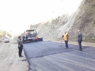 Yeşilalan-Baltacılı-Taşören-Huşo Mahalleleri Grup yolu asfaltlama çalışmasına başladık