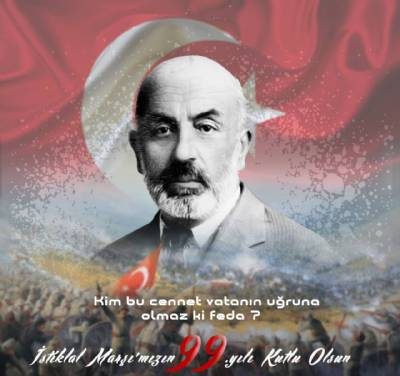 İstiklal Marşı'mızın Millî Marş olarak kabul edilişinin 99'uncu yıl dönümü