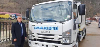 Yeni Çöp kamyonu Belediyemizin araç filosuna kazandırıldı